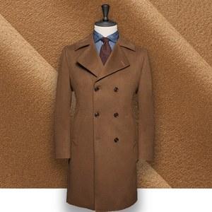 Manteau Caban Camel sur-mesure