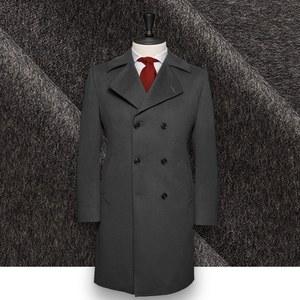 manteau caban gris anthracite