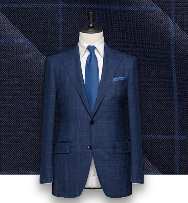 Costume Bleu Prince de Galles