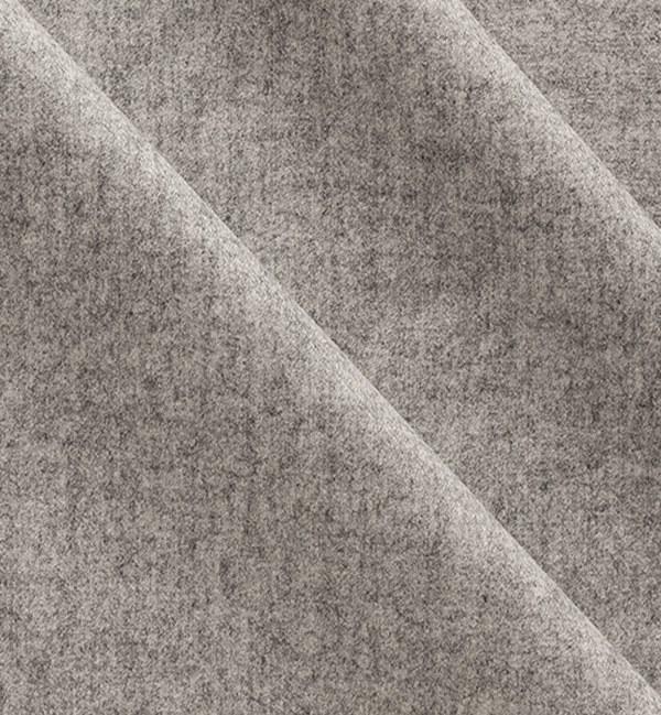 costume sur mesure privé gris clair flanelle