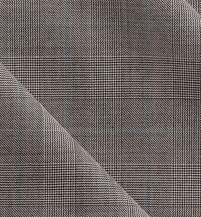 costume gris prince de galles sur mesure costume priv paris. Black Bedroom Furniture Sets. Home Design Ideas