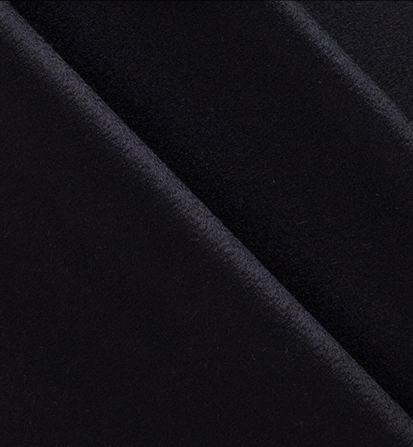 costume sur mesure privé bleu nuit flanelle