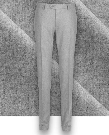 Pantalon Gris Clair Flanelle