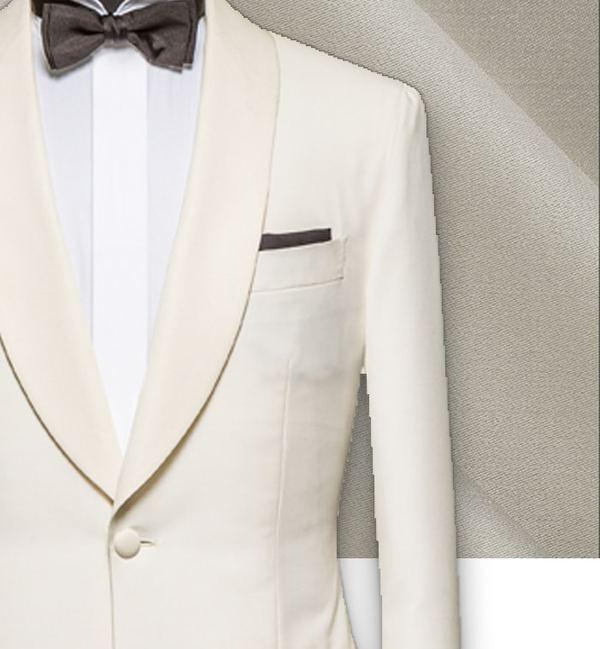 Smoking Blanc tuxedo sur mesure paris, costume privé