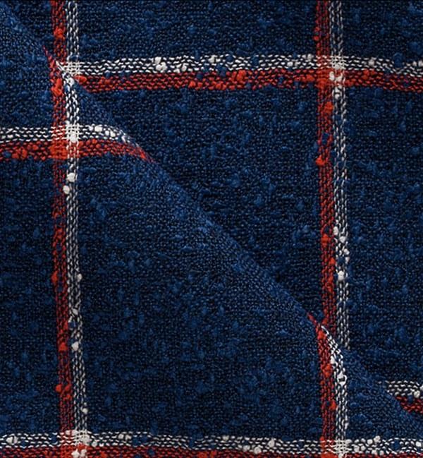Blazer Bleu Carreaux