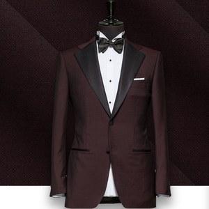 smoking Bordeaux tuxedo sur mesure paris, costume privé