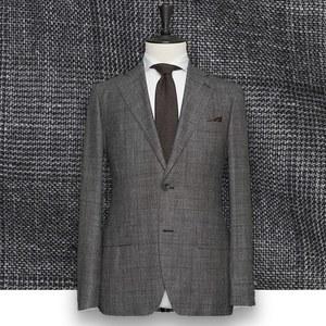 Costume Gris Prince de Galles costume sur mesure