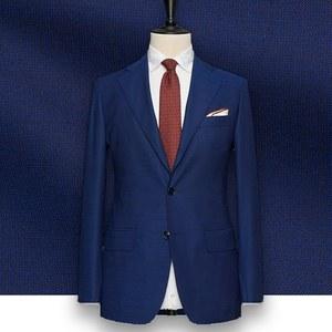 Costume Bleu intense faux-uni tailleur paris costume sur mesure