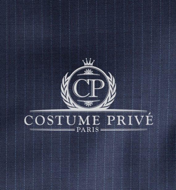 Costume rayures Bleu fines