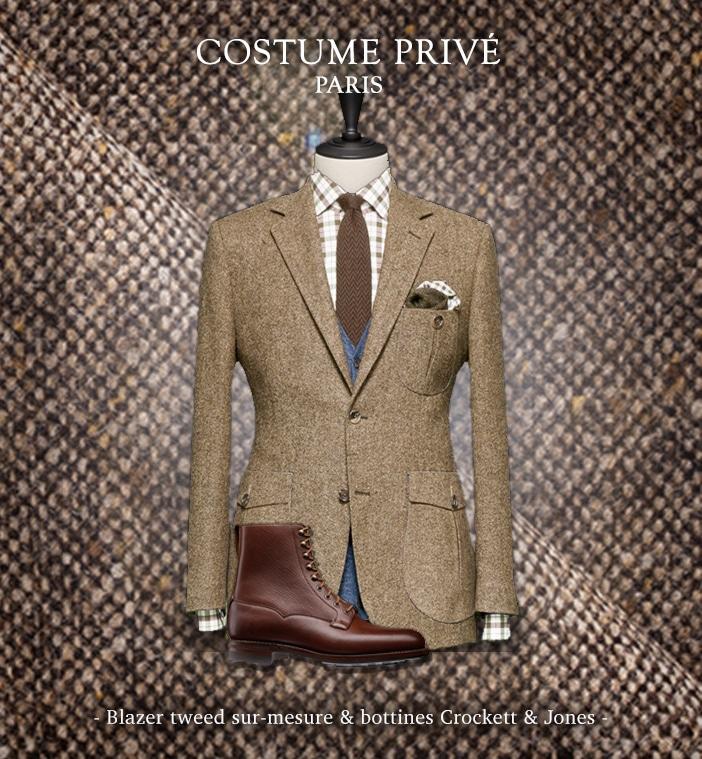 blazer casual chic crockett and jones