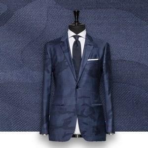 Blazer bleu camouflage tailleur paris