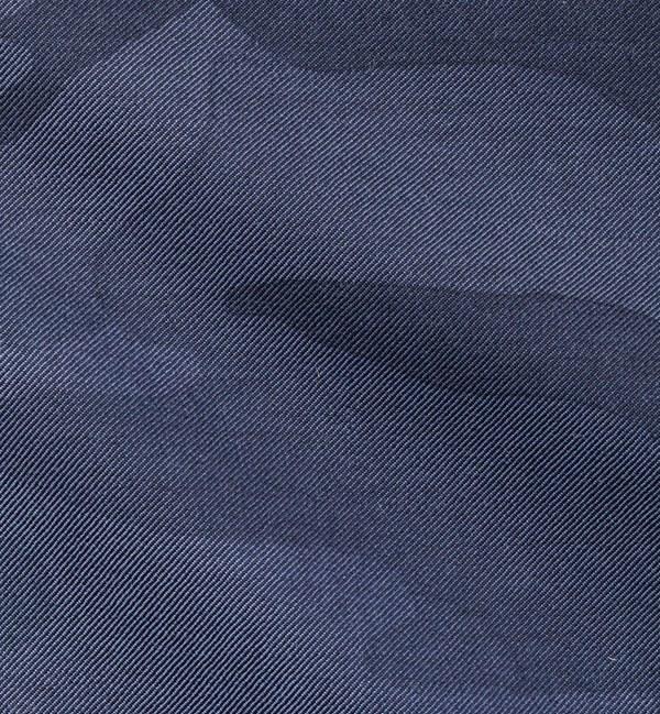 Blazer bleu camouflage costume sur mesure paris