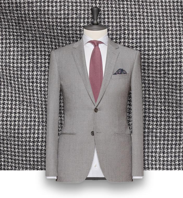 costume gris clair flanelle sur mesure costume priv paris. Black Bedroom Furniture Sets. Home Design Ideas