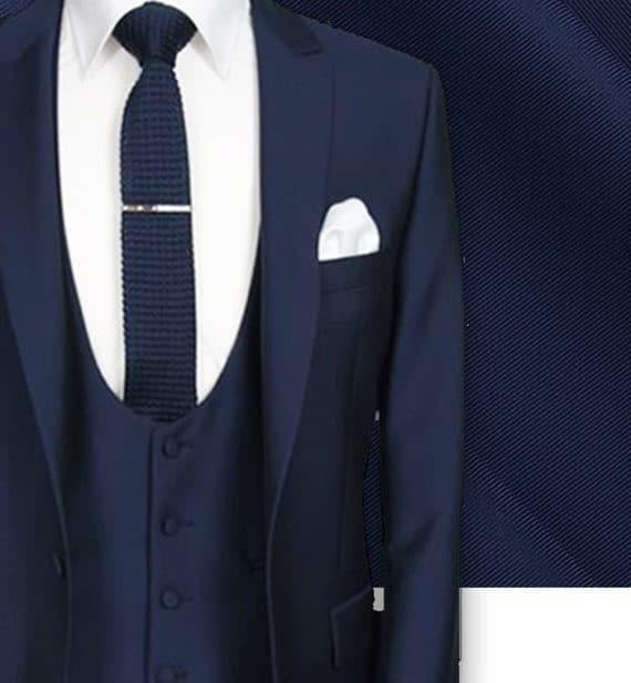 costume sur mesure paris costume bleu cérémonie