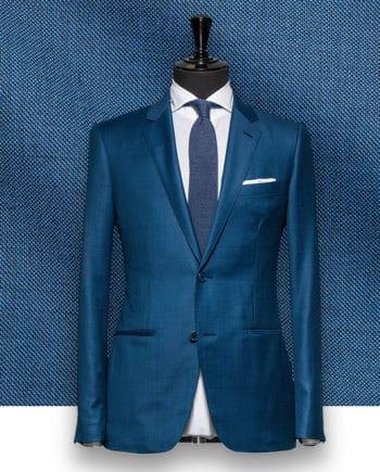 Costume Bleu Turquoise sur mesure tailleur paris
