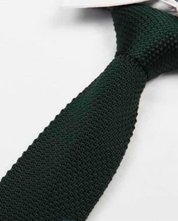 cravate tricot rouge vif maille cravate italienne