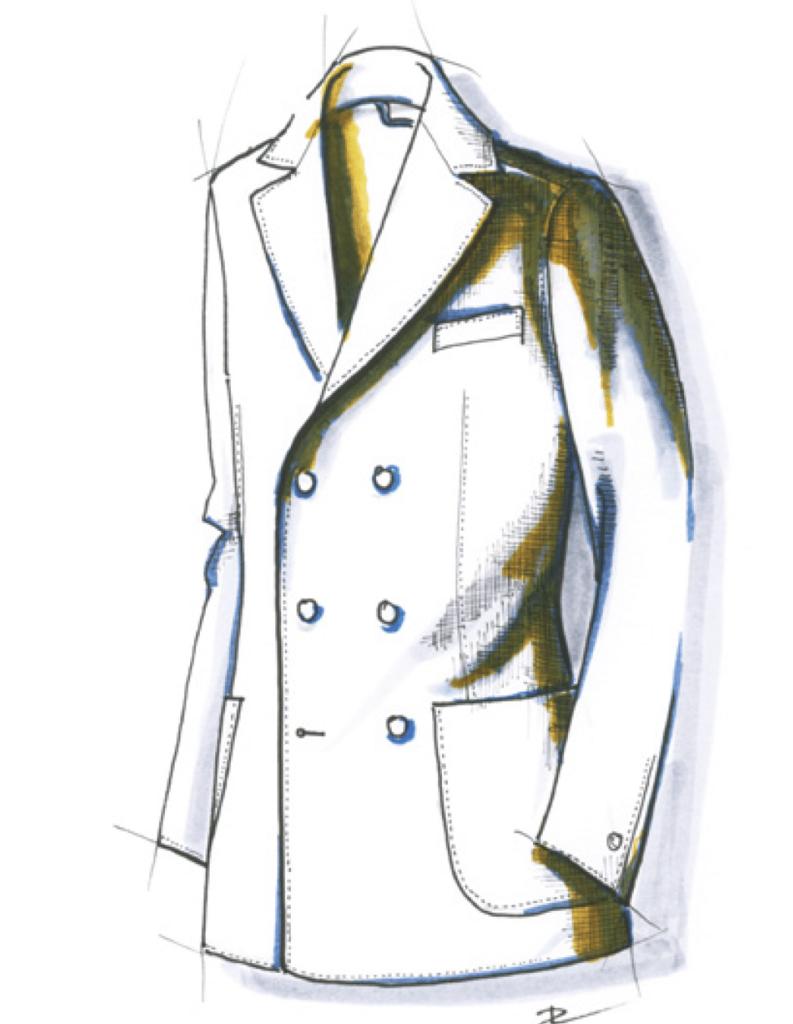 blazer sport sur mesure tailleur paris costume privé paris