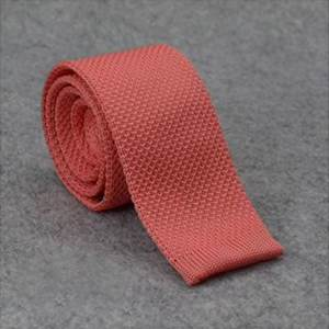 cravate tricot maille cravate mariage corail