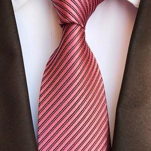 cravate rose saumon cérémonie mariage