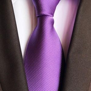 cravate violet cérémonie mariage