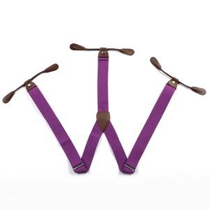 bretelles violettes accessoires homme