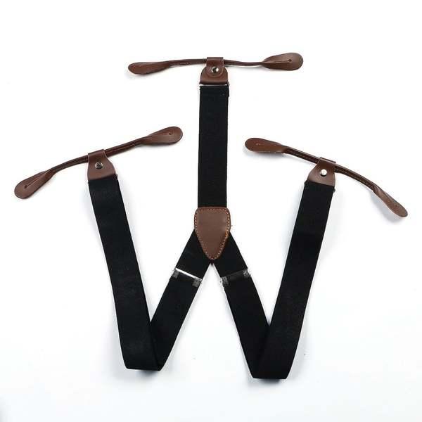 bretelles noir accessoires homme mariage