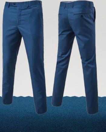 pantalon homme couleur bleu marine clair homme