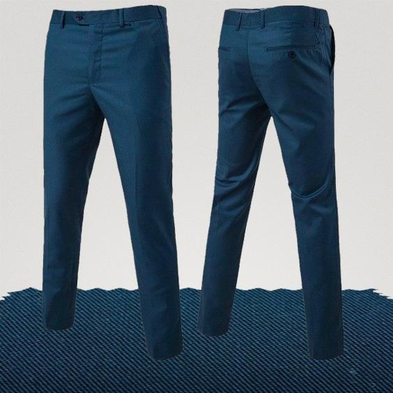 pantalon homme couleur bleu marine homme