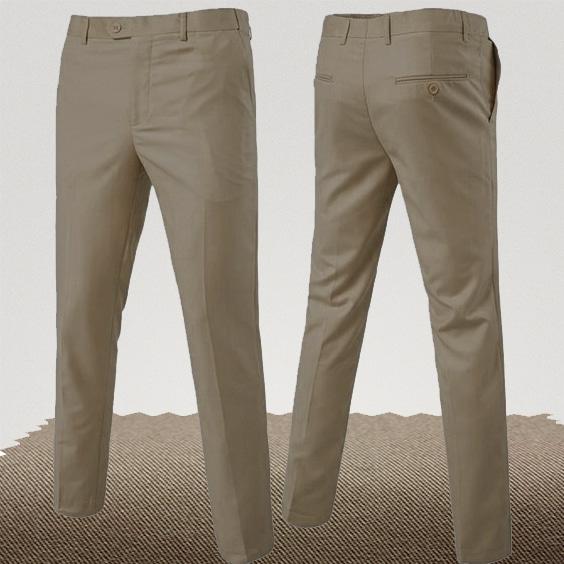 pantalon homme couleur beige foncé taupe homme