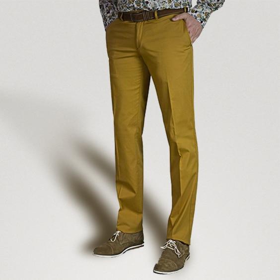pantalon golf mariage cérémonie coupe ajustée couleur