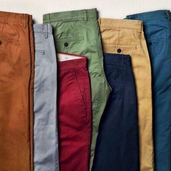 pantalon chino coton choix de couleur golf mariage cérémonie