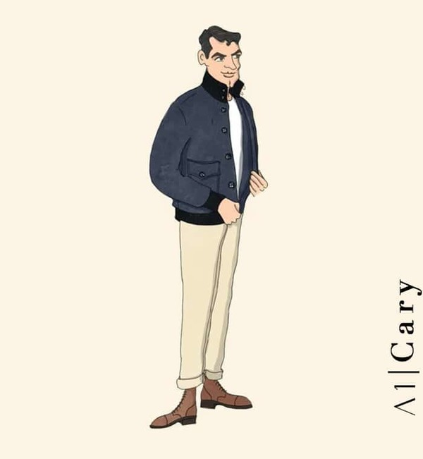 Blouson cuir A1 Cary flight jacket costume privé paris fabrication sur mesure Italie