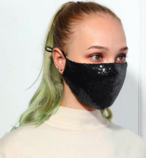 masque paillettes tendance