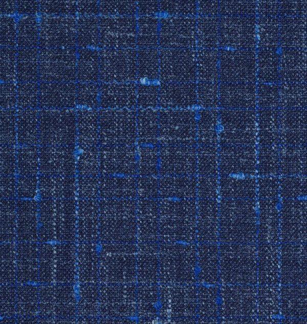 tissu Blazer bleu roi SS20 Loro Piana