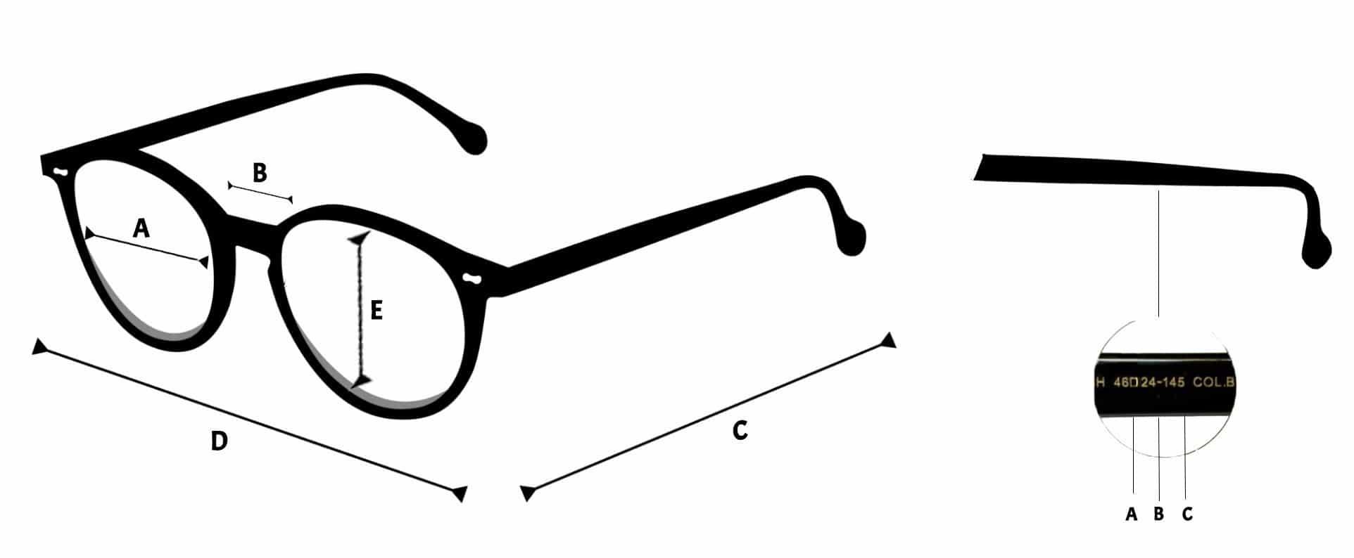 taille lunettes de soleil