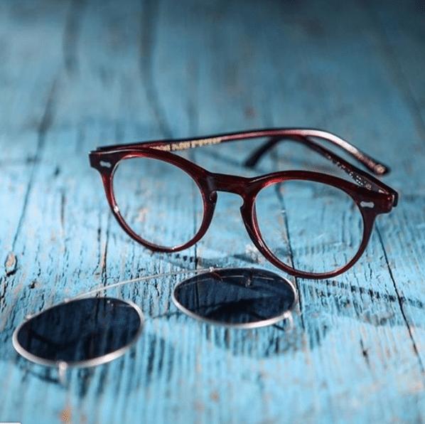 lunettes bespoke dudes pleat solaires